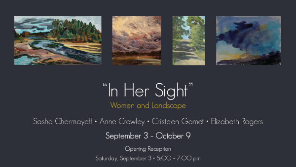 In Her Sight - Women & Landscapes